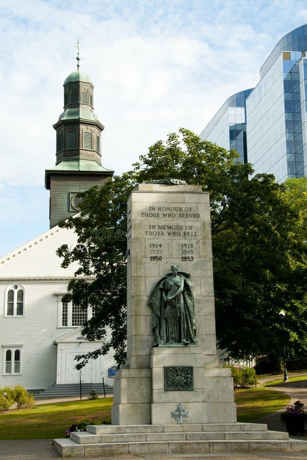 Cenotafio de Halifax - Nova Scotia imágenes de archivo libres de regalías
