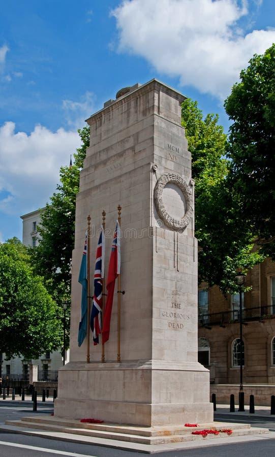 Cenotafio, Londres fotografía de archivo libre de regalías