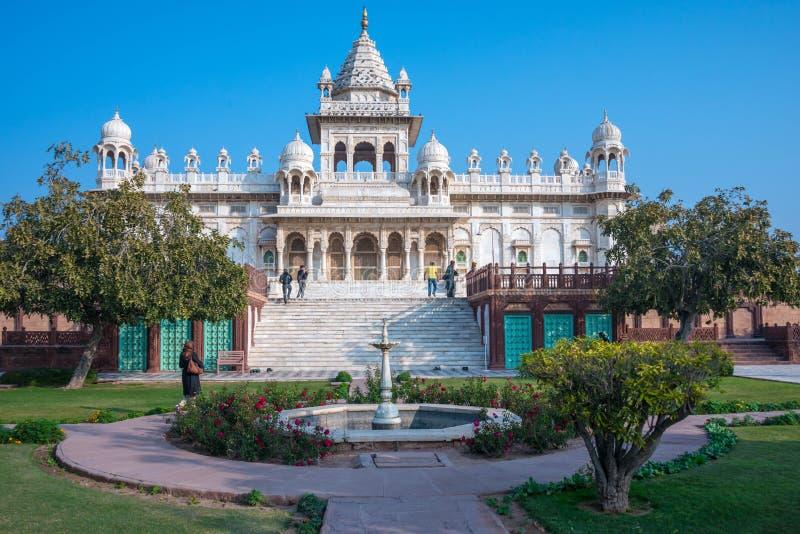 Cenotafio real en Rajasthán imágenes de archivo libres de regalías