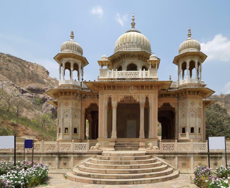 Cenotafios de Gaitore en Jaipur imágenes de archivo libres de regalías