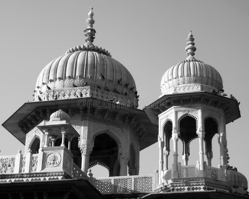Cenotafios del Gaitor de la arquitectura de la India fotografía de archivo libre de regalías