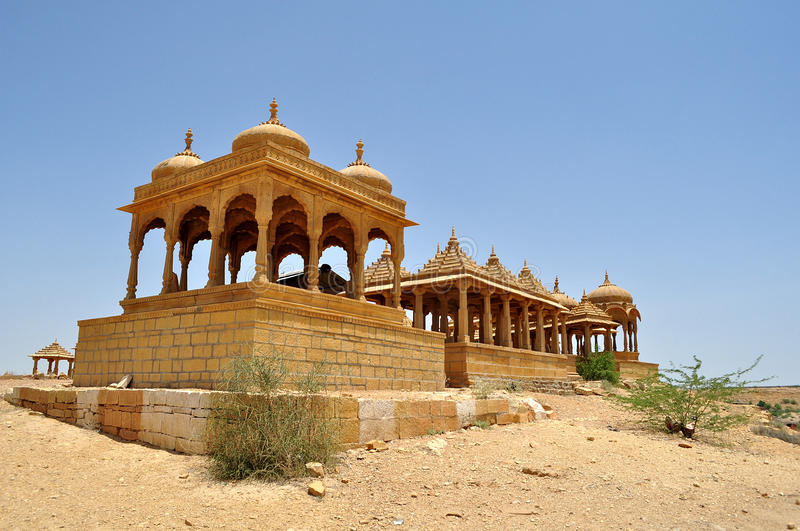 Download Cenotaph_2 stock image. Image of architecture, jaisalmer - 25599349