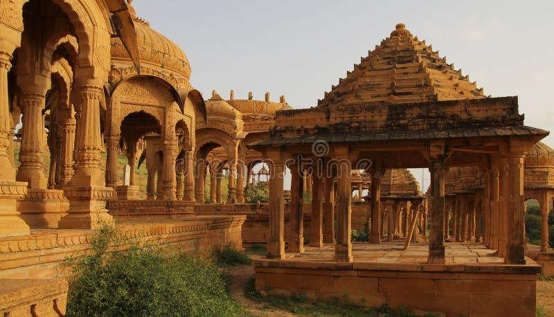 Cenotaphe w India fotografia stock