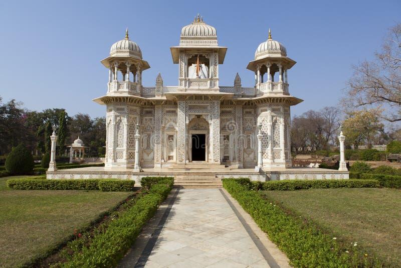 Cenotaphs bei Shivpuri lizenzfreie stockfotos