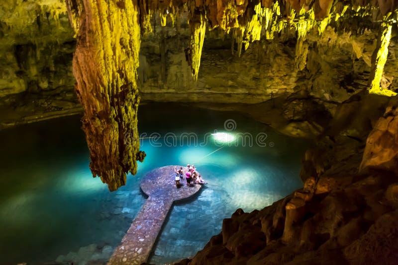 Cenote photo libre de droits