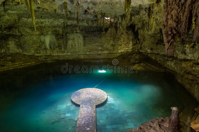 Cenote images libres de droits