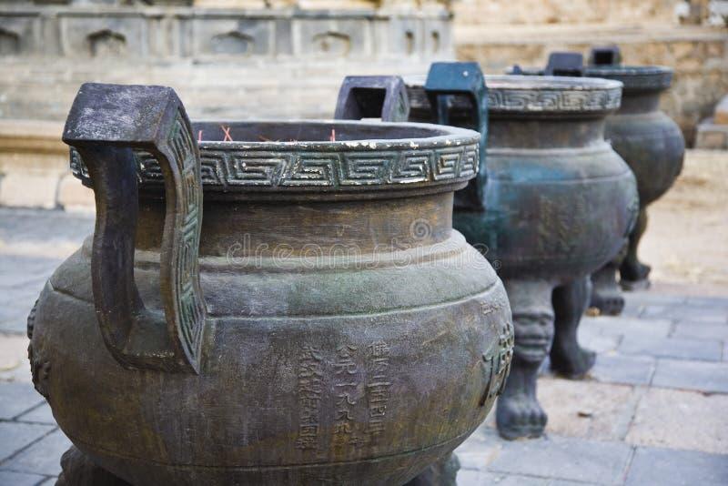 Censer do templo foto de stock royalty free