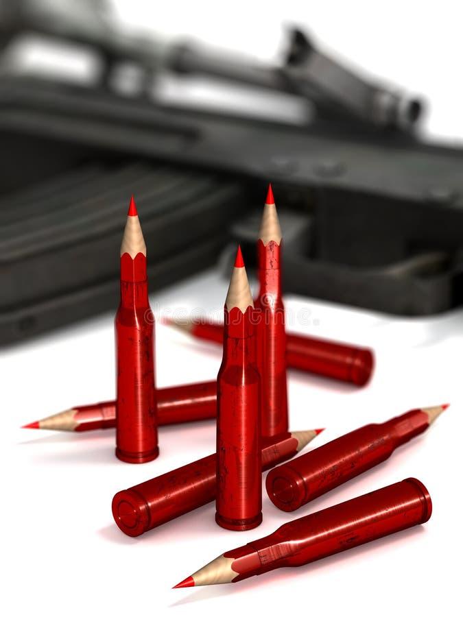 Censura do terrorismo ilustração royalty free