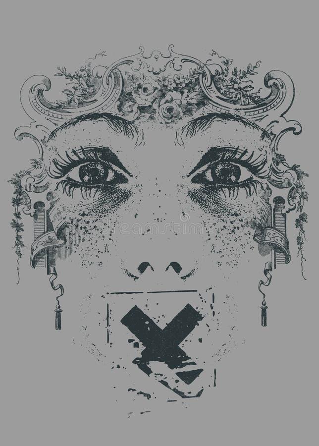 Censure illustration stock