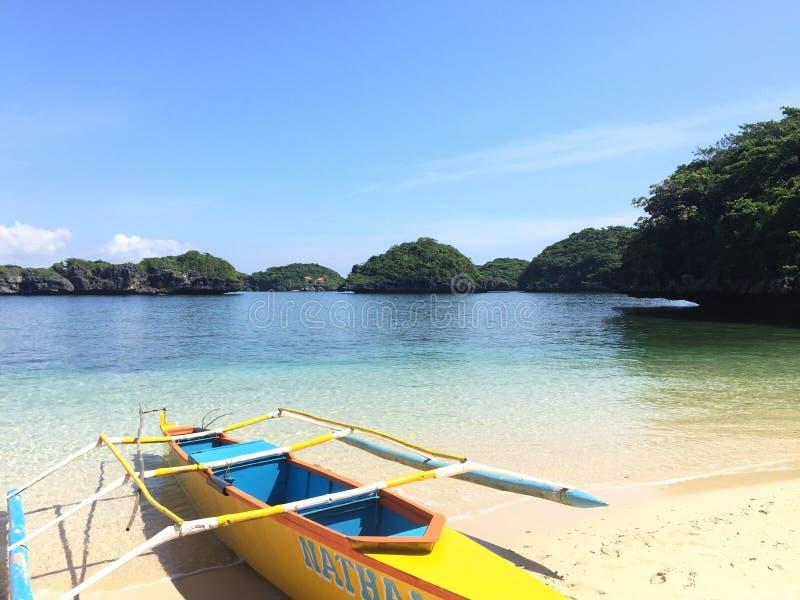 Cent îles Philippines photo libre de droits