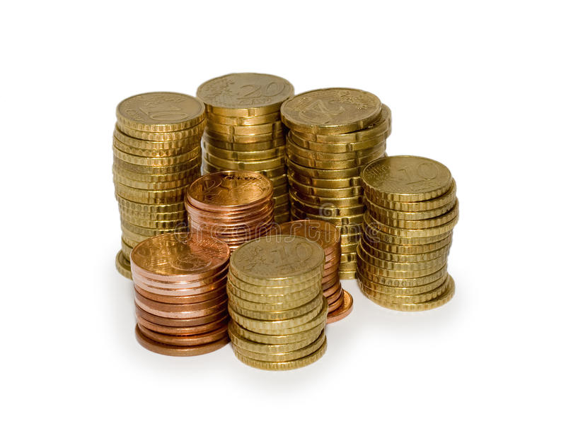 Cent  Euro Royalty Free Stock Photography