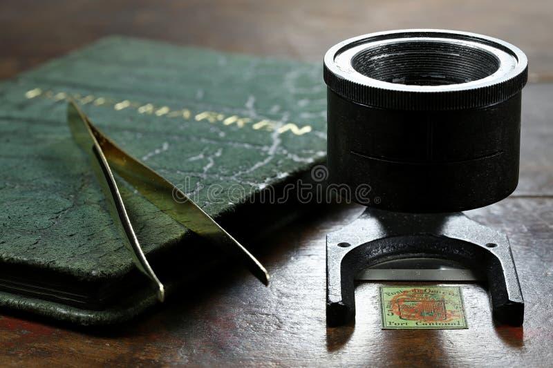 5 cent Genèvedistrikts-stämpel royaltyfri foto