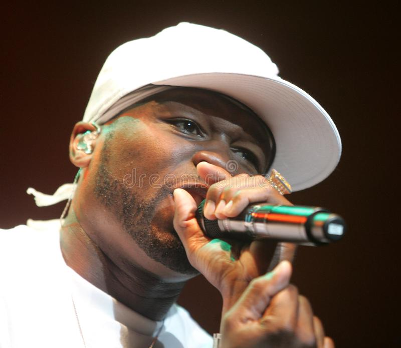 50 Cent Performs in Concert stock images