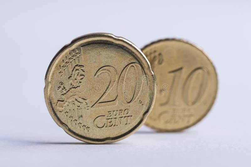 20-Cent-Stellung stockfotos