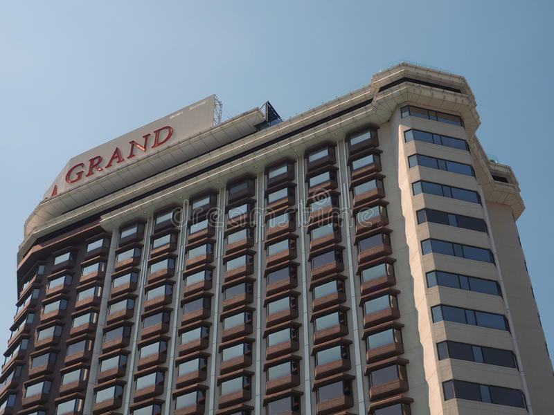 Centara Grand at Central Plaza Ladprao, Bangkok, Thailand royalty free stock photo