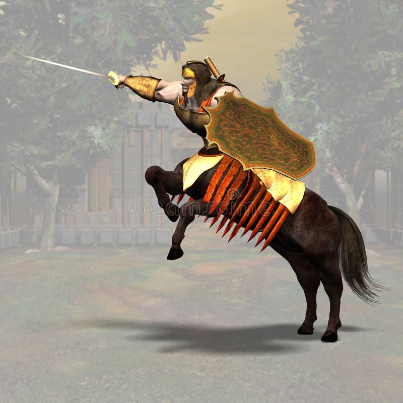 Centaur #03 illustrazione di stock