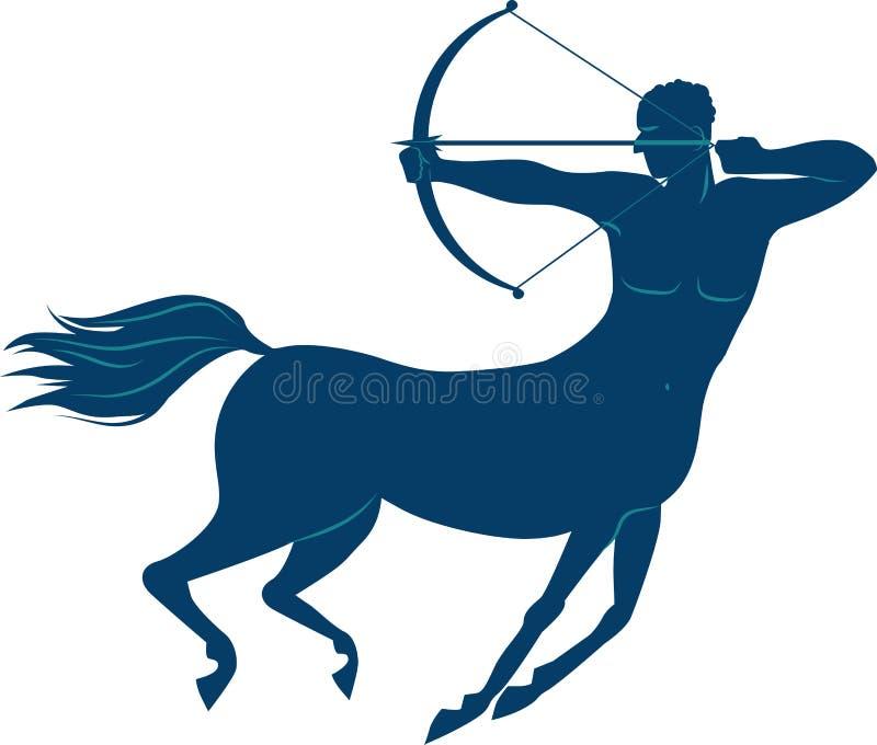 Centaur illustrazione di stock