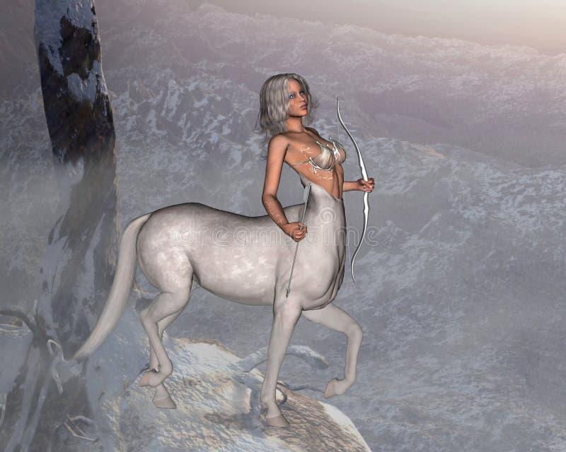Centaur mistico illustrazione vettoriale