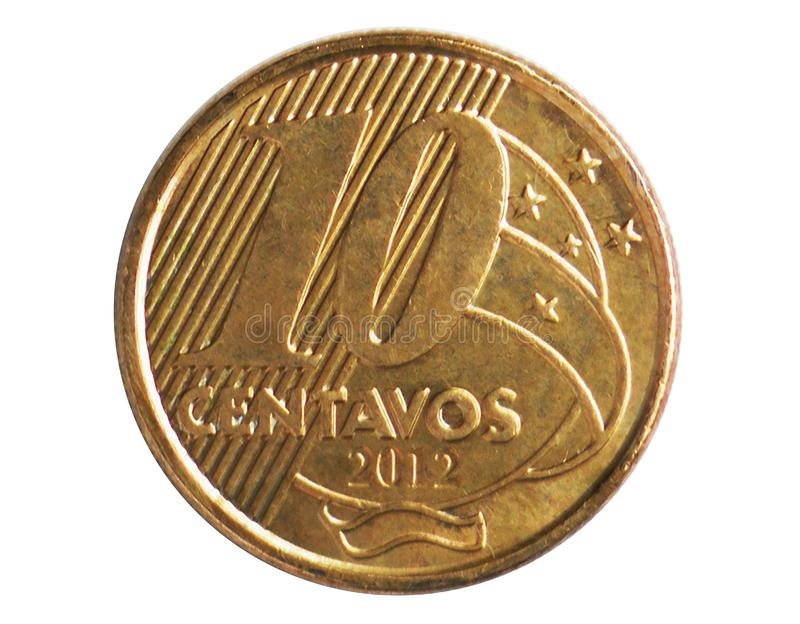 10 centavi immagine stock libera da diritti
