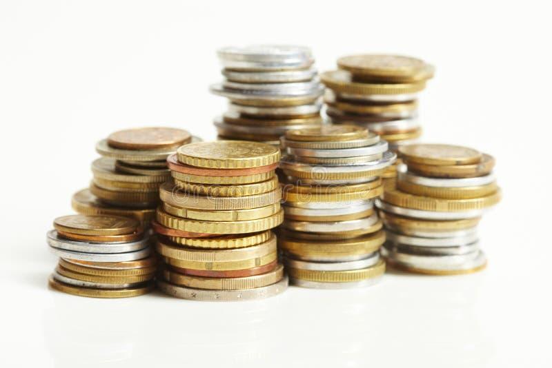 Centavo del euro de la moneda fotos de archivo libres de regalías