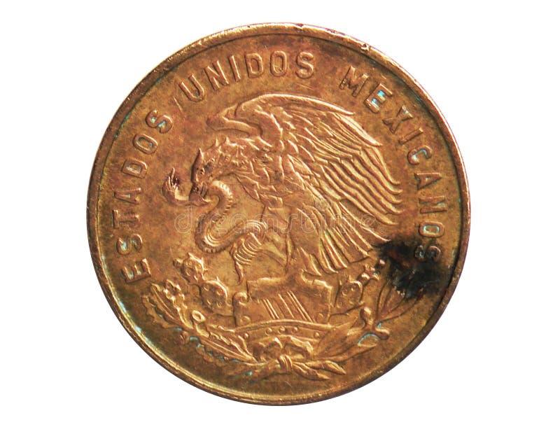 5 Centavos-muntstuk, 1905~1992 - de Omloop van Estados Unidos Mexicanos serie, Bank van Mexico stock foto's