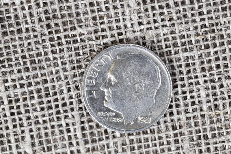 10 centen royalty-vrije stock afbeeldingen