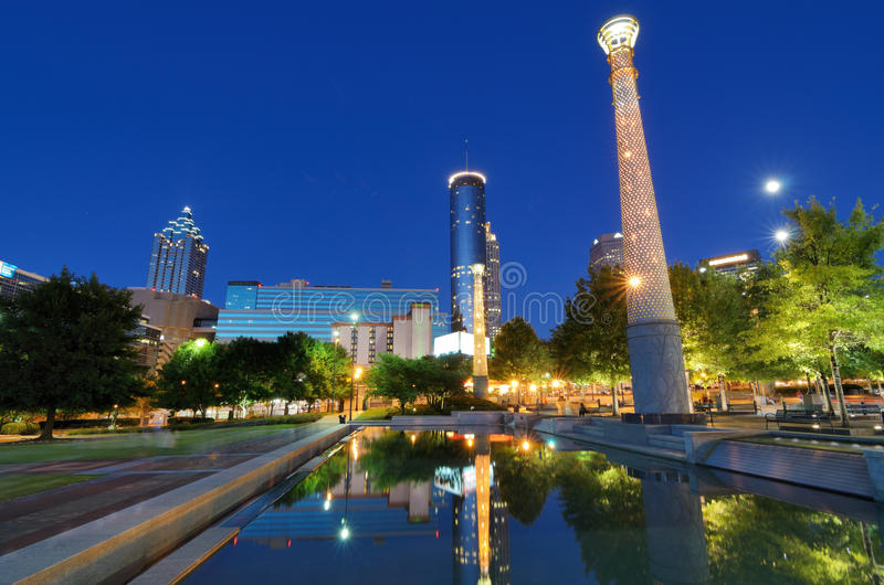 Download Centennial Olympic Park Royalty Free Stock Photos - Image: 25109428