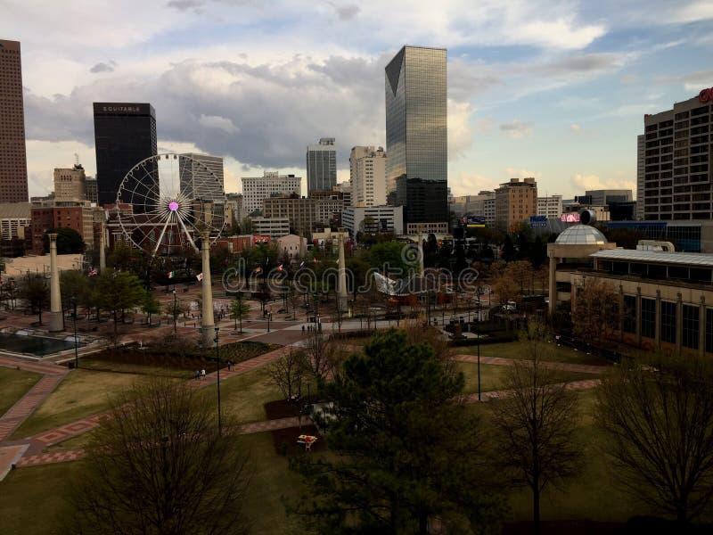 Centennial Parkowy Atlanta obrazy royalty free