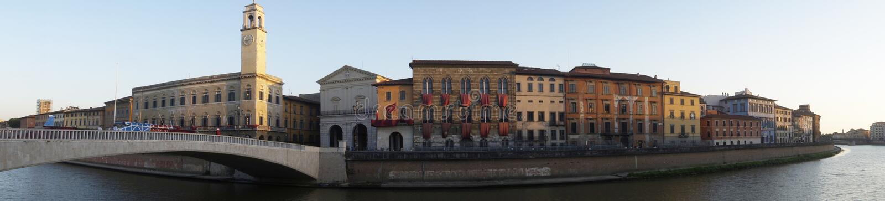 Center bridge, Pisa, Italy royalty free stock image
