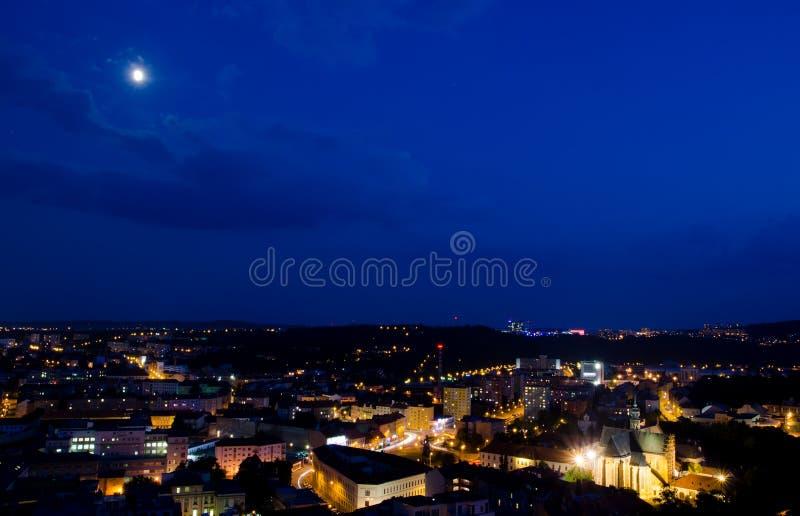 Center of Brno city, Czech republic royalty free stock image