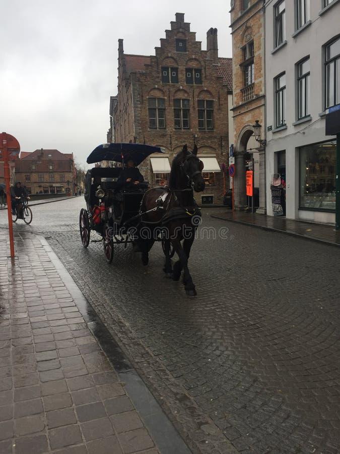 Center Bruges Belgium royalty free stock image