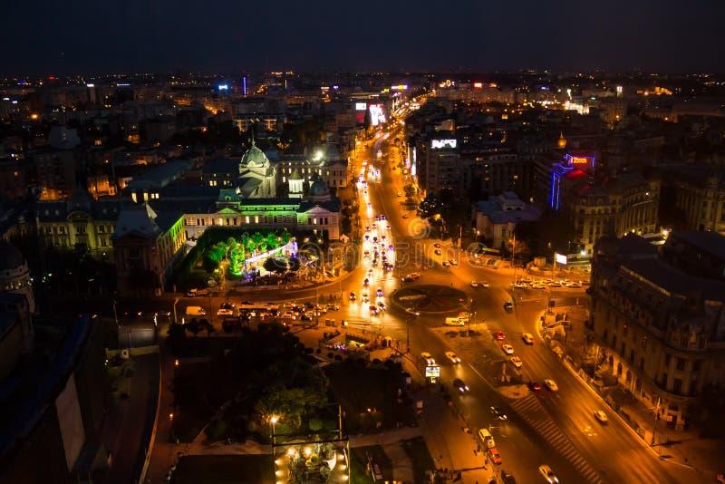 Center of Bucharest stock photography