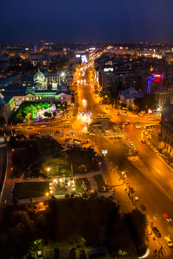 Center of Bucharest royalty free stock photography