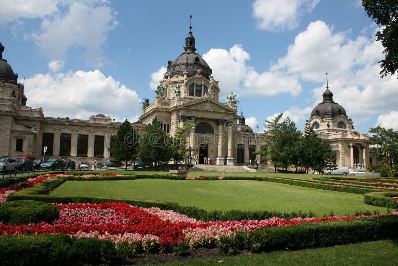 The center of Budapest stock photos
