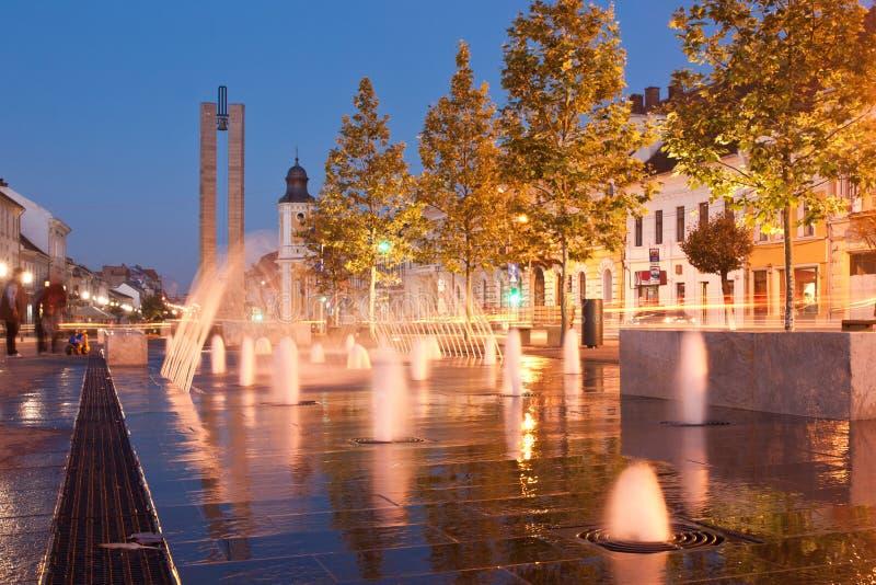 Center of Cluj royalty free stock photos