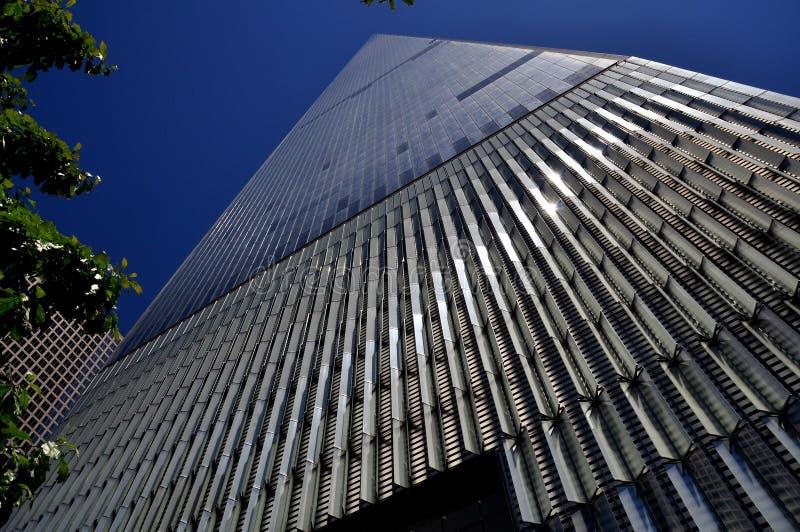 center för tornhandel för nyc en värld fotografering för bildbyråer