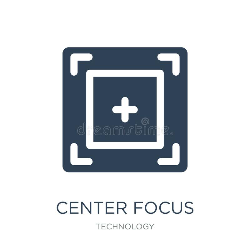 center focus icon in trendy design style. center focus icon isolated on white background. center focus vector icon simple and vector illustration
