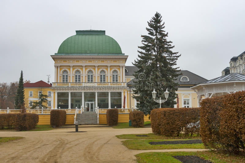 Download Center Of Frantiskovy Lazne, Czech Republic Stock Photo - Image: 29169532