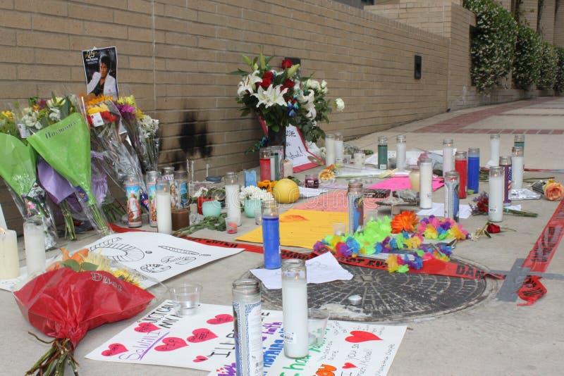 center jackson medical memorial michael ucla στοκ φωτογραφίες με δικαίωμα ελεύθερης χρήσης