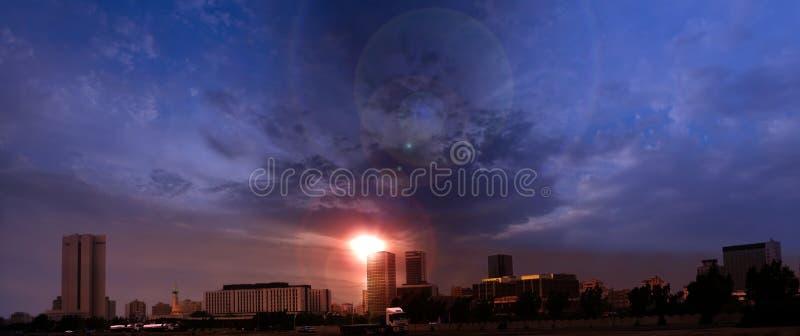 center kommersiella jeddah royaltyfri foto