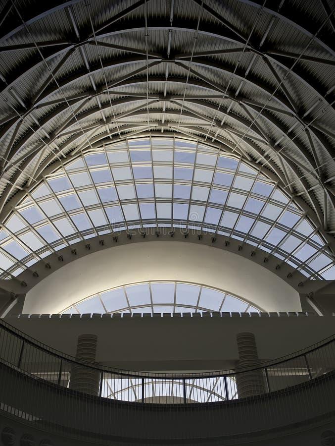 center konferens för arkitektur royaltyfri fotografi
