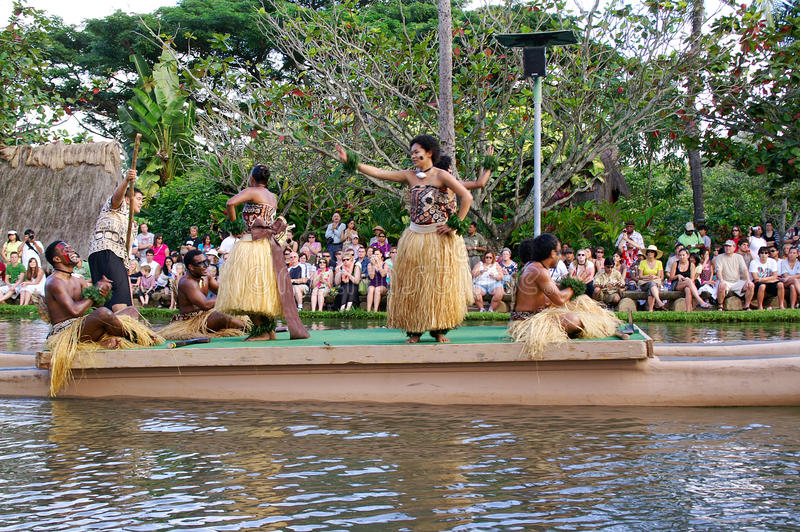 center kulturell polynesian royaltyfri foto