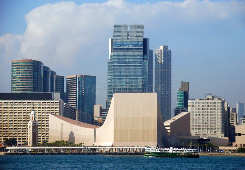 center kulturella Hong Kong arkivfoto