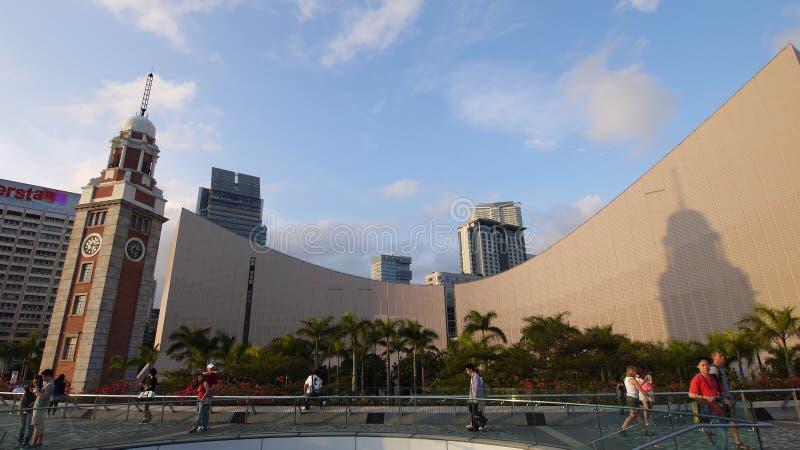 center kulturella Hong Kong royaltyfria bilder