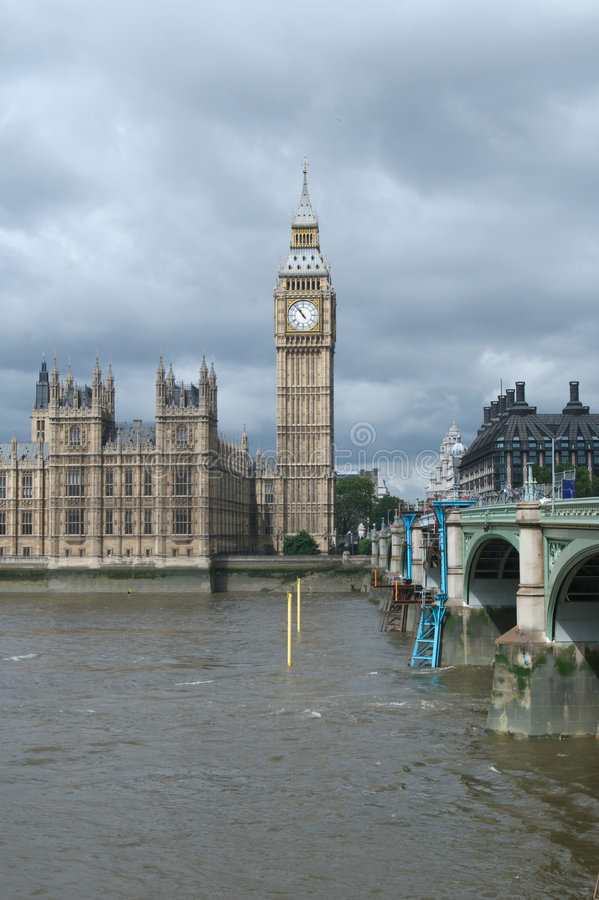 center london arkivbild
