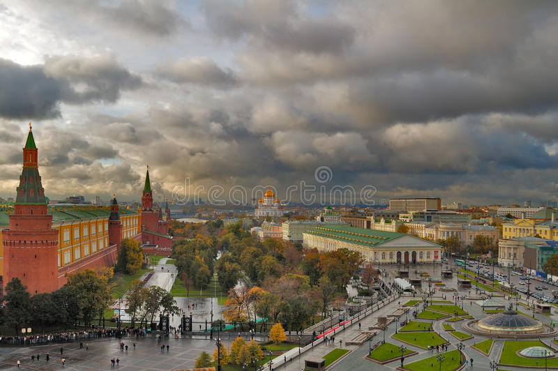 Download Center Of Moscow Royalty Free Stock Image - Image: 13559016