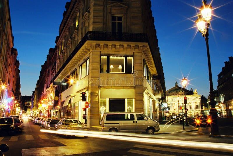 center night paris στοκ φωτογραφίες με δικαίωμα ελεύθερης χρήσης