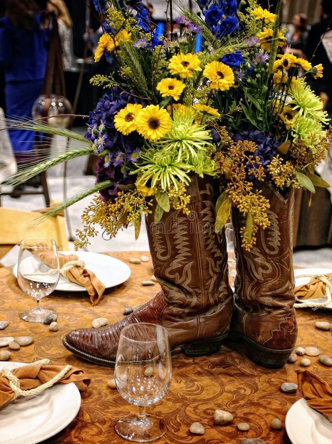 Center Piece, table decoration stock photo