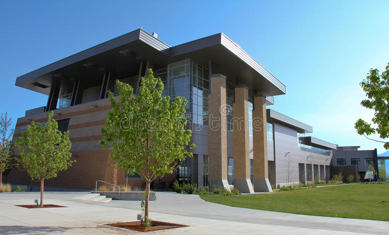 Center Rekreation Arkivfoto