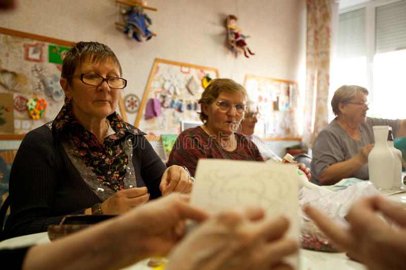 Download Center Of Social Services For Pensioners Editorial Photography - Image: 24779752